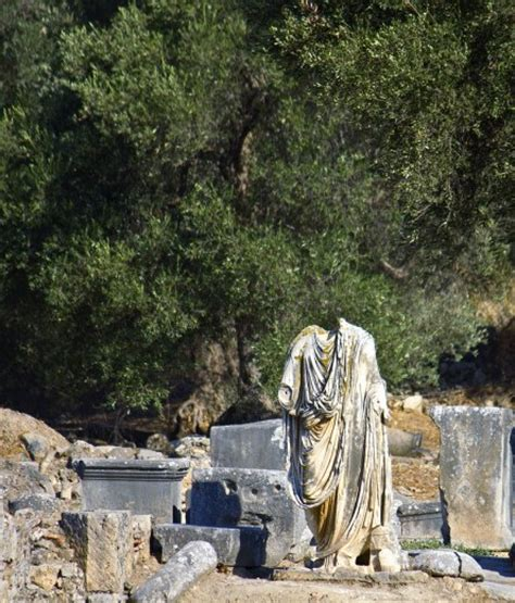 gortina ancient archaeological site  southern crete