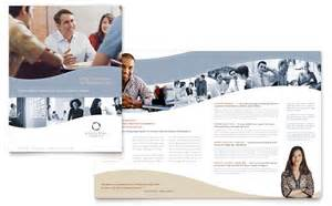 consulting brochure template marketing consulting brochure template design