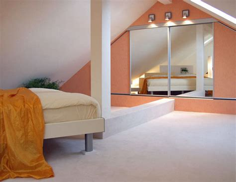 spiegel im schlafzimmer seitlich platziert auf der stirnseite w 252 rde der spiegel
