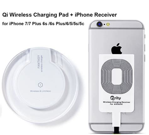 qrity wireless charger white qi wireless charging pad