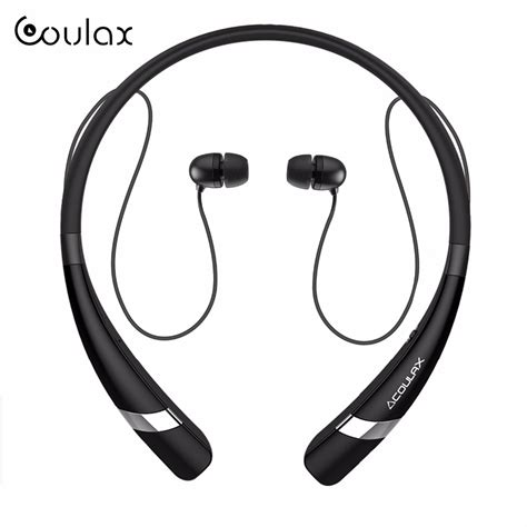 Headphone Sport Bluetooth Earphone With Microphone aliexpress buy coulax cx04 wireless bluetooth