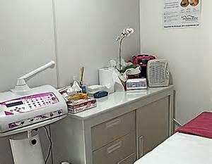 cabine estetica mesa de procedimentos