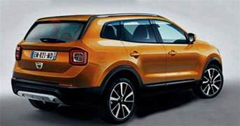 Renault Dacia Duster Will The New Renault Dacia Duster Look Like This Perhaps