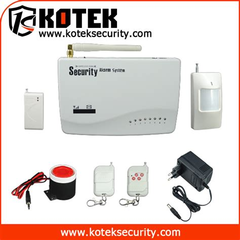 alarm system cell phone security sistems