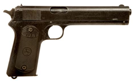 deactivated wwi dated colt model 1902 allied
