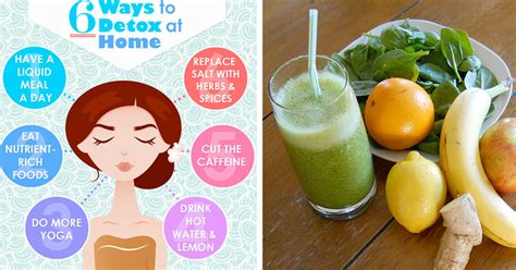 How To Detox Diet At Home by 9 Cleansing Smoothie Recipes To Boost Liver Function