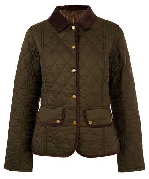 Olive Quilted Jacket by Barbour Olive Vintage Quilted Jacket In Green For