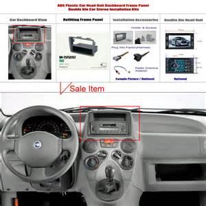 Fiat Panda Speaker Upgrade For Fiat Panda 2004 2012 Aftermarket Radio Dash Board Kit