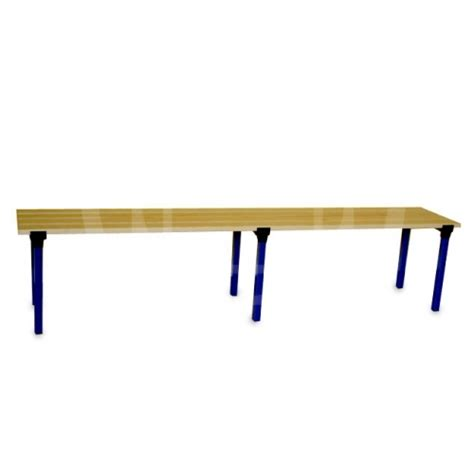 bench m locker room benches square section completely disassembled