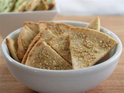 Ready Lagi Wedges Pita pistachio pita wedges recipe cdkitchen