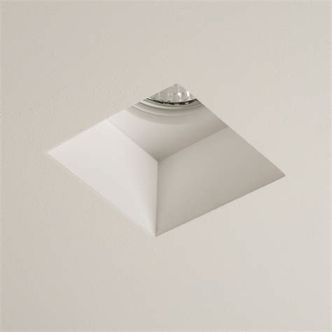 Gu10 Ceiling Lights by Astro Blanco Square 5655 Dimmable Recessed Ceiling Light