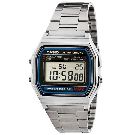 casio orologi orologio unisex casio a158wa 1cr