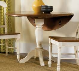 amazing Round Table With Leaf Dining Sets #9: Liberty-Furniture-Low-Country-Sand-42-Inch-Round-Drop-Leaf-Pedestal-Table-.jpg