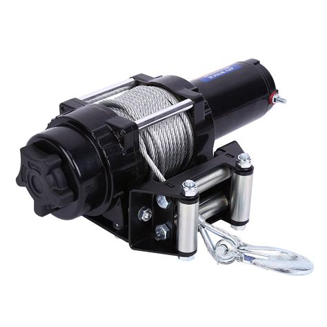 12v boat winch uk 12v 4000lbs electric winch steel cable boat winch 4wd atv