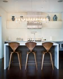 Kitchen Island Bar Stool by Lighting Options Over The Kitchen Island