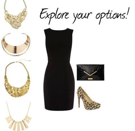 images   black dress assessories