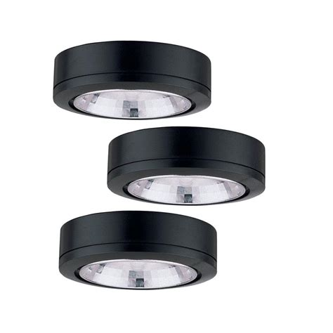 seagull ambiance low voltage under cabinet lighting sea gull lighting ambiance low voltage 3 light xenon black