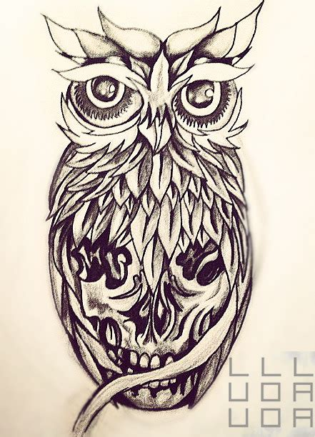 sugar skull tattoo designs tumblr owl sugar skull