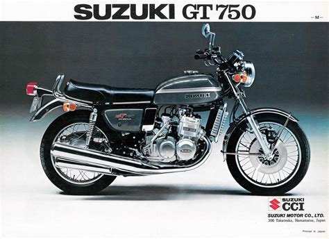 Gt750 Suzuki Suzuki Gt750 Brochure Scans