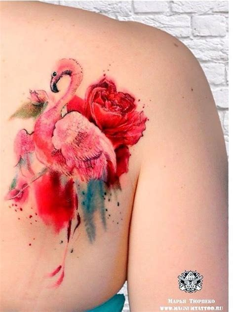 watercolor tattoo budapest 25 best ideas about flamingo on