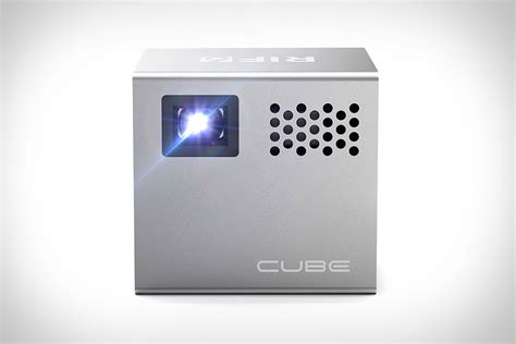 mobile projector cube cube mobile projector uncrate