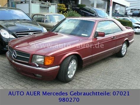 Auto Auer Kirchheim by 1990 Mercedes 420 Sec W126 Is Listed Sold On