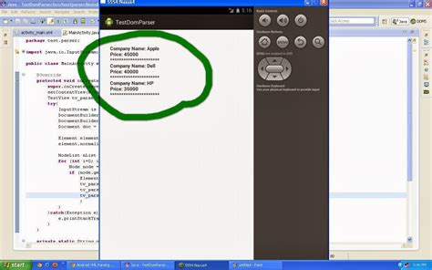 android layout xml parser android application tutorial xml parsing in android