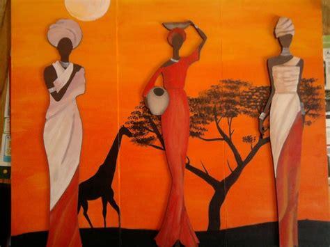 imagenes cuadros negras africanas acuarelas africanas buscar con google pinturas