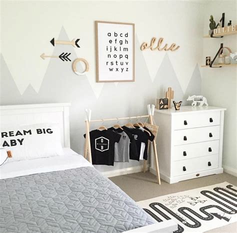 awesome mountain wall art ideas   kids bedroom