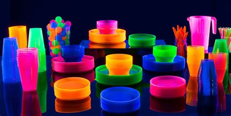 black light party decorations black light party supplies glow in the dark party ideas