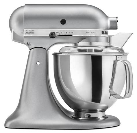 kitchenaid artisan 5 qt silver kitchenaid stand mixer tilt 5 quart ksm150pssm artisan