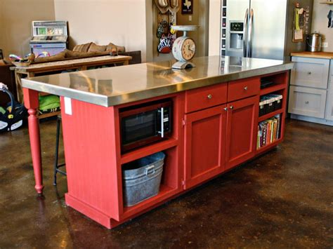 creative kitchen island photo page hgtv