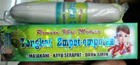 Empot Madura Plus Majakani Kayu Serapat Daun Sirih Mengencangkan Otot madura stick tongkat empot empotan sexual enhancers for jamumadura