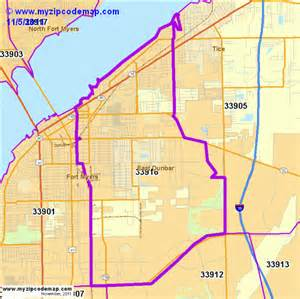 fort myers florida zip code map zip code map of 33916 demographic profile residential