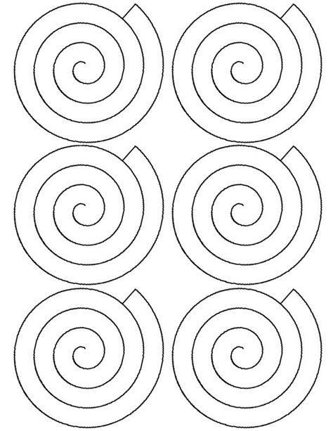 rolled paper roses template flower spiral paper template cricut