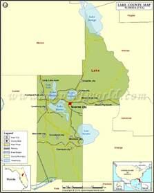 map lake county florida lake county map florida