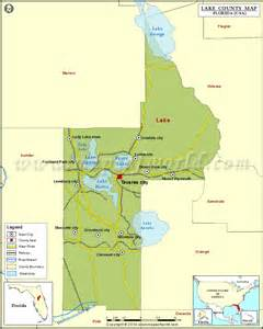 lake county map florida