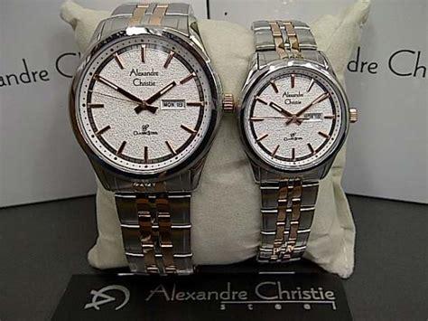 Alexandre Christie 8447 jam tangan ac 8447 silver kombi rosegold alexandre christie