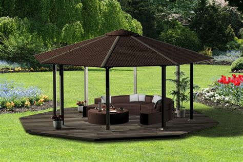 backyard gazebo ideas outdoor furniture design and ideas