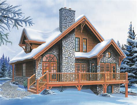chalet house plans superb four season chalet drummond house plans