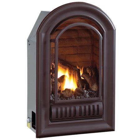 gas fireplace btu hearthsense a series gas vent free fireplace insert 20 000 btu walmart