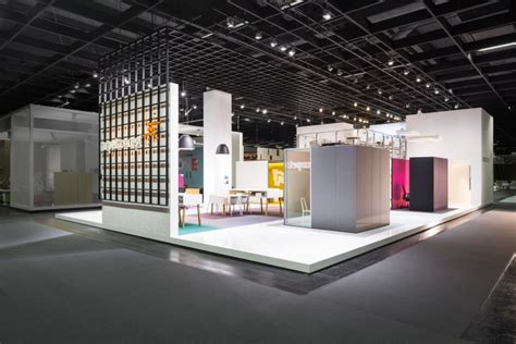 Exhibition Booth Design Germany | carpet concept flagship stand at orgatec 2014 by