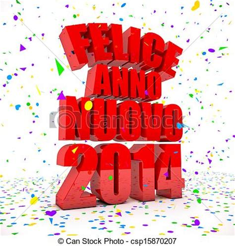 happy new year in italy language stock illustration of happy new year 2014 in italian