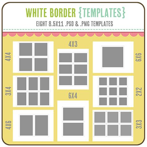 More Cute Printables One Happy Mama Photoshop 4x6 Photo Template
