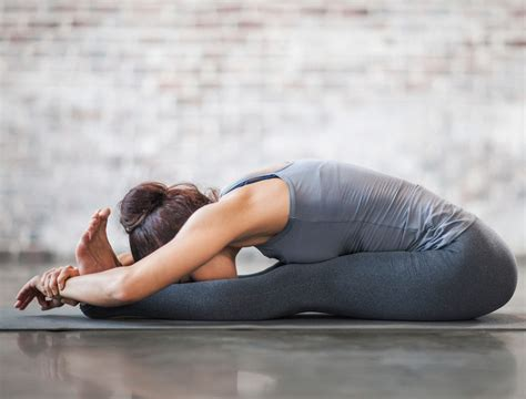 seated forward fold 5 poses to release stress i am co