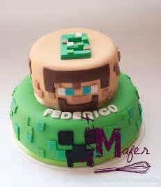 pastel decorado minecraft minecraft cake