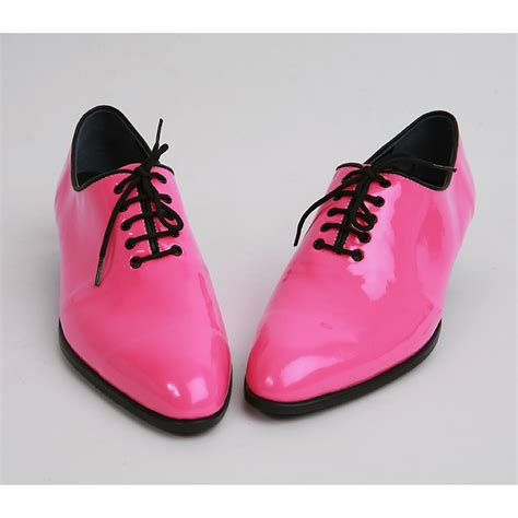 pink dress shoes for mens made by oxfords 1 77 inch heel dress pink shoes
