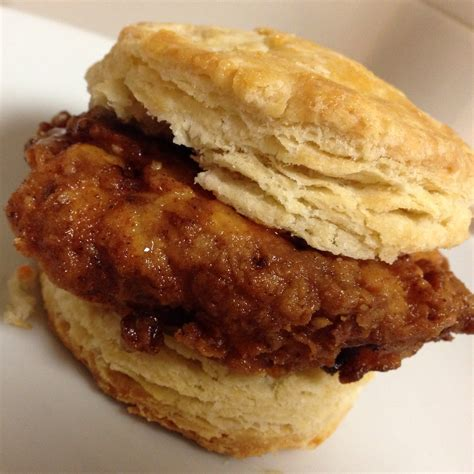 buttermilk fried chicken biscuits with honey and hot sauce the dough will rise again