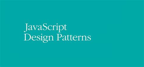 javascript pattern decorator o reilly s learning javascript design patterns by addy