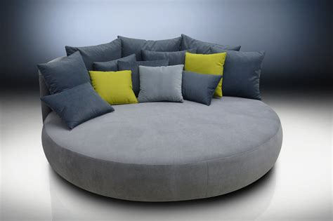 rounded couches sale round sofa donna diameter 210cm available in all colours